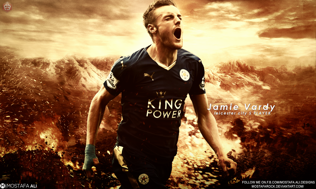 Jamie Vardy Wallpaper By Mostafarock On DeviantArt