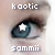Sammy's new starry icon by kaotic-sammii