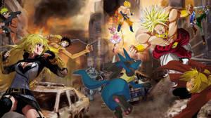 Battle against The Legendary Super Saiyan Behemoth