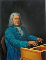 Johann Sebastian Bach by JORGEOLVERARUIZ