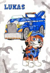 PAW Patrol Mechanic by Nanagon
