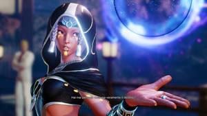 Street Fighter V: Dark Menat Story Costume
