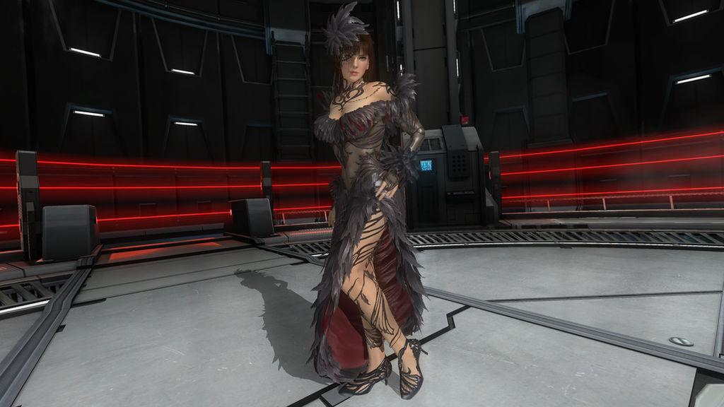 DOA5LR Anna Williams Tekken 7 Dress by gattotomDOA5LRmods