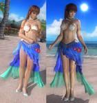 DOA5LR: Kasumi Stella Pisces SSR