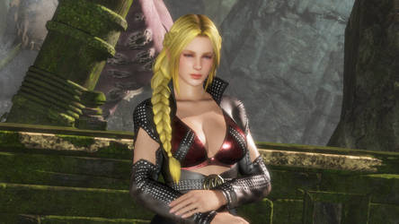 DOA6: Helena The Muscle Costume by gattotomDOA5LRmods