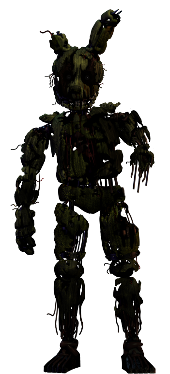 Withered Springtrap By GoldenNove On DeviantArt