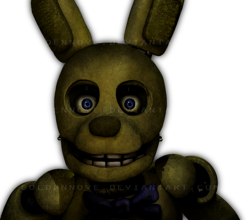 Unwithered springtrap by goldennove on deviantart