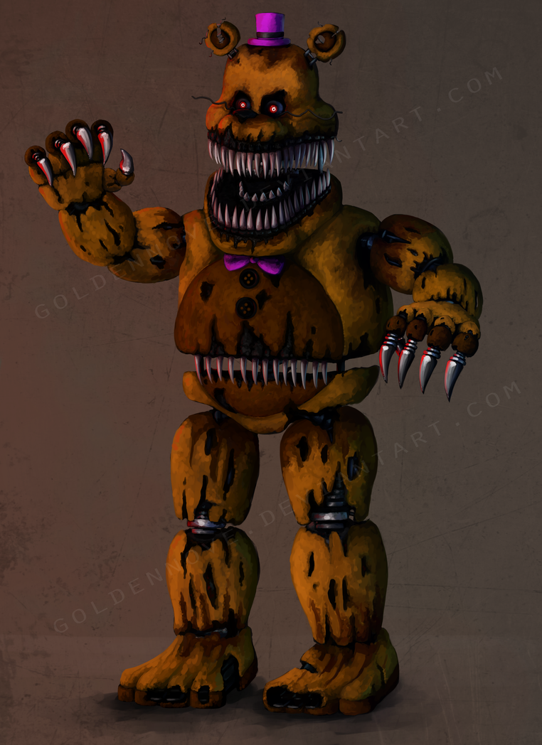 how tall is nightmare fredbear