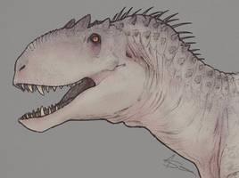 The beast of Isla Nublar