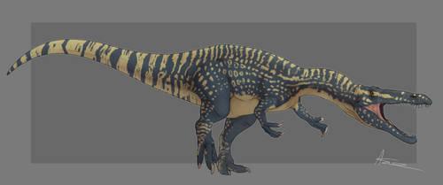 Suchomimus by GoldenNove