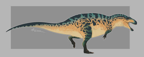 Acrocanthosaurus by GoldenNove