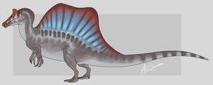 Spinosaurus (JP3) by GoldenNove