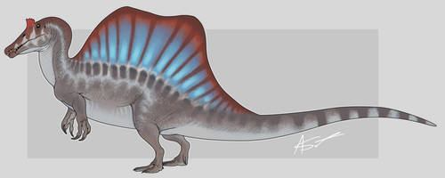 Spinosaurus (JP3) by GoldenNove