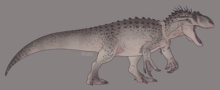 Indominus rex reimagined