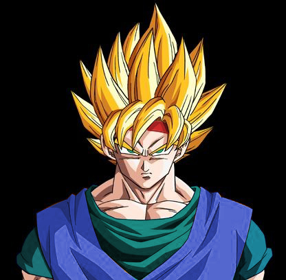 Baby Goku Ssj5 Goku jr Dragon Ball AF by