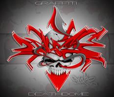 Graffiti Death Dome ... Final by SikWidInk