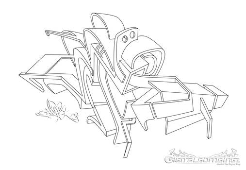 Graffstract 3D