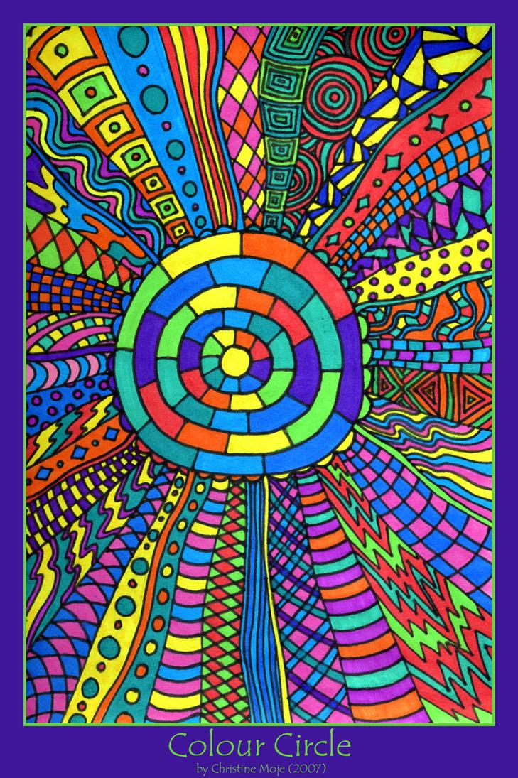 Colour circle by kine80