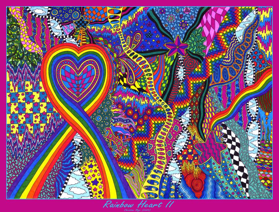 Rainbow Heart II by kine80