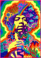Jimi Hendrix by kine80