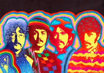 The Beatles II by kine80