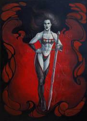 Vampiress by KainTheVampireLord