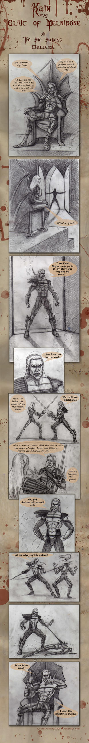 The Big Badass Challenge by KainTheVampireLord