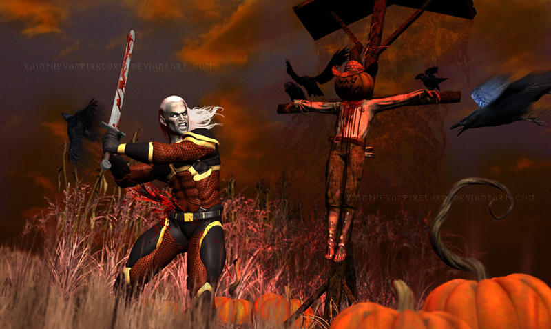 The scarecrow by KainTheVampireLord