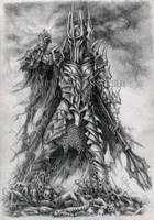 Sauron by KainTheVampireLord