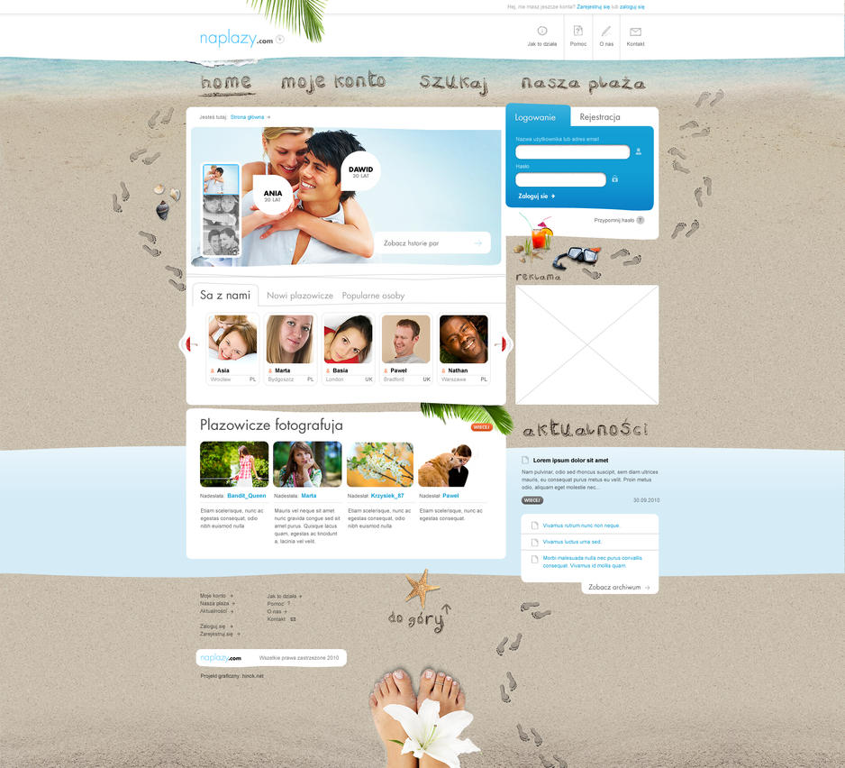 naplazy by hinok d34ivg6 Creatively Inspired Web Interface Designs