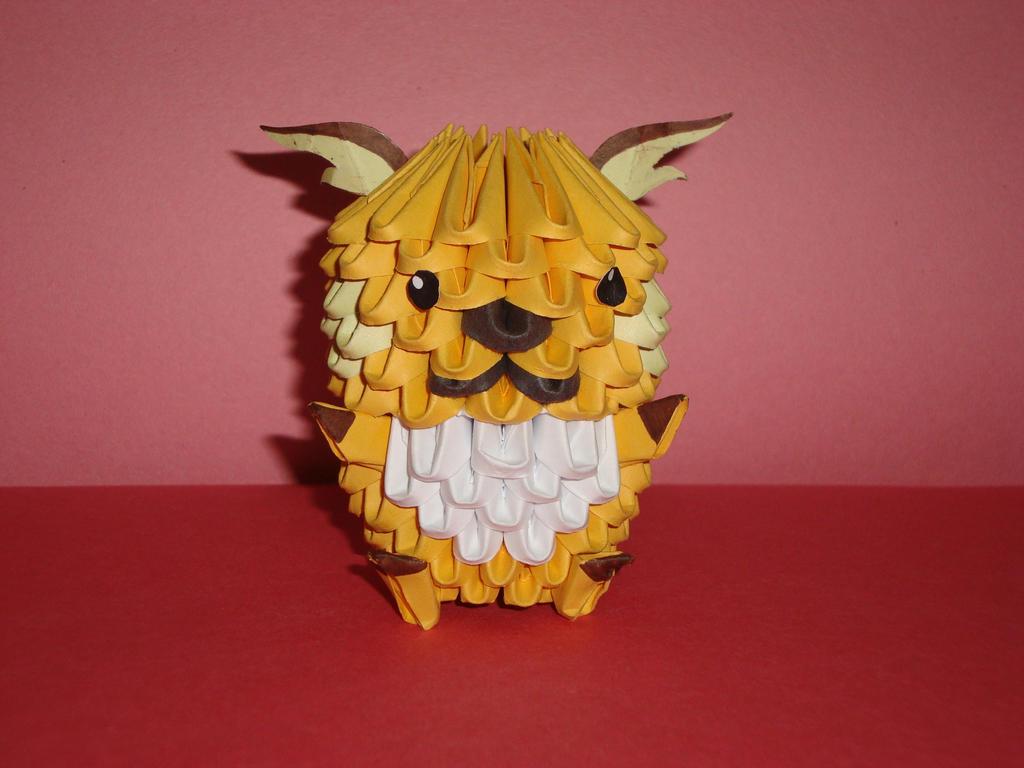 3d origami raichu by penguin4213 on deviantart 3d origami raichu by penguin4213 jeuxipadfo Images