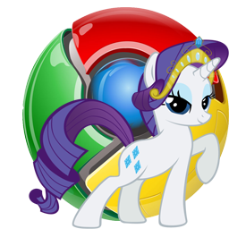 Rarity Google Chrome Windows Icon By Shadowhedgiefan91 On Deviantart