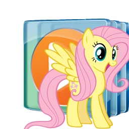 Fluttershy Windows Media Player Windows Icon by Shadowhedgiefan91