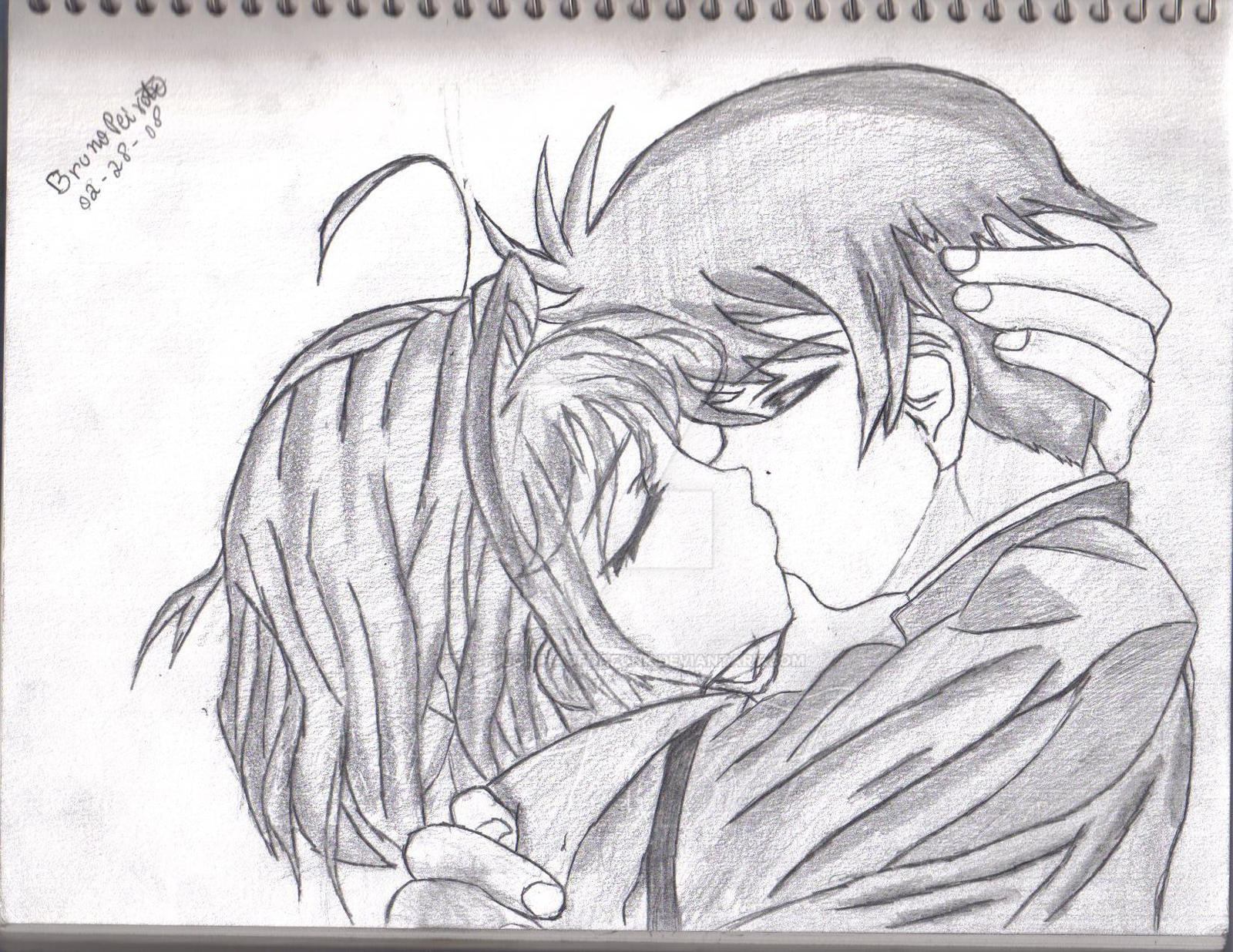 Cute Couple Kissing By Itachiuchihaofdafunk On Deviantart