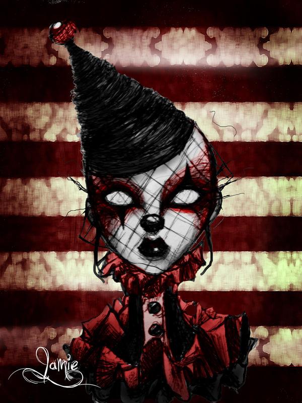 Blood Clown by MissJamieBrown