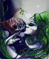 A mermaid's pet by MissJamieBrown