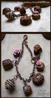 Chocolates Charm Bracelet