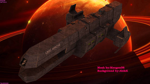 UNSC APACHE class heavy frigate