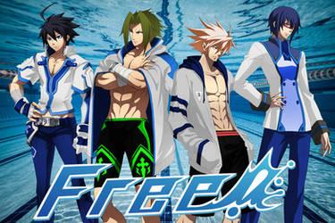 Free! Ikaruga swim club by craMerupt