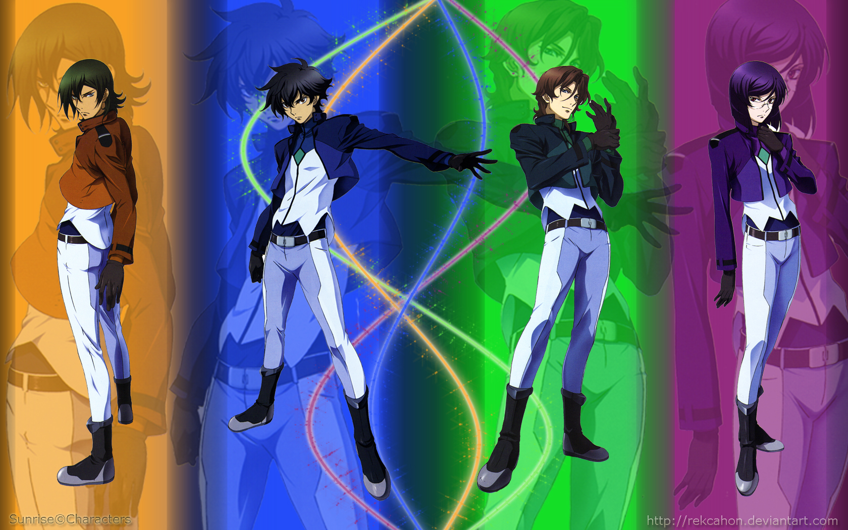 Gundam 00 wallpaper by rekcaHoN