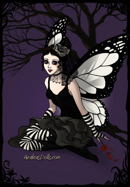 Dark Fairy Azaleas Dolls By The Gothic Butterfly On DeviantArt