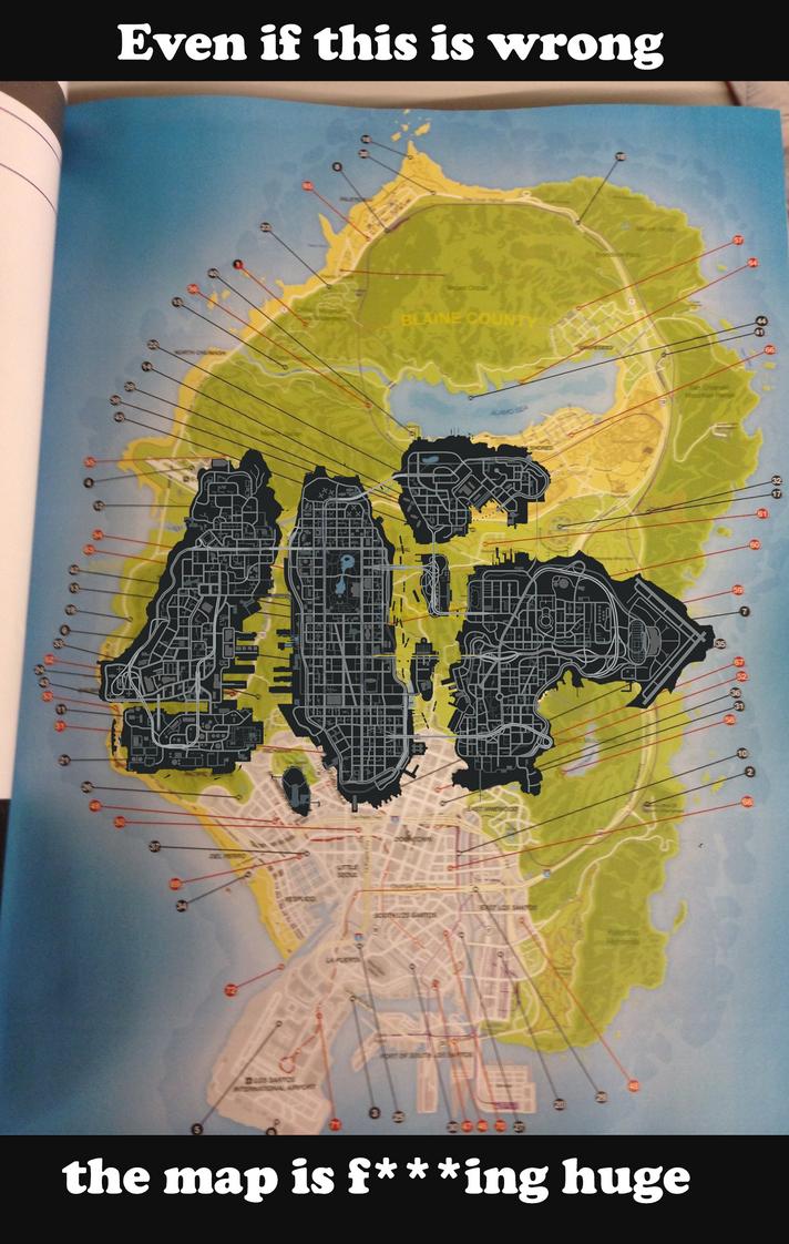 GTA V Map Leaked via Strategy Guide Page 38 GTA V GTAForums