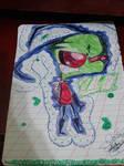 Zim school doodle