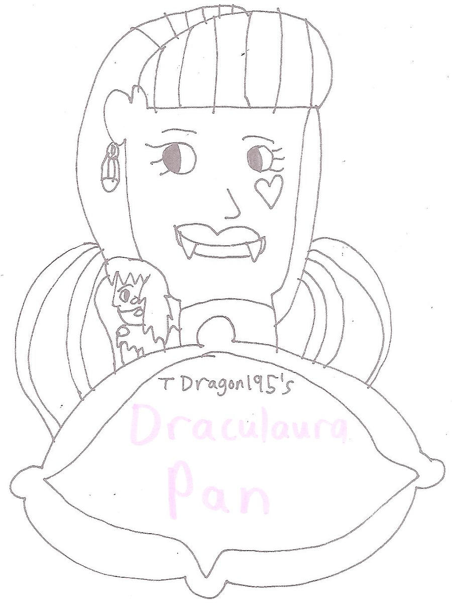 Draculaura Pan by jacobyel