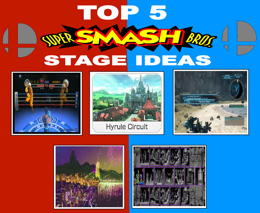 my top 5 super smash bros stage ideas by jacobyel on deviantart. Black Bedroom Furniture Sets. Home Design Ideas