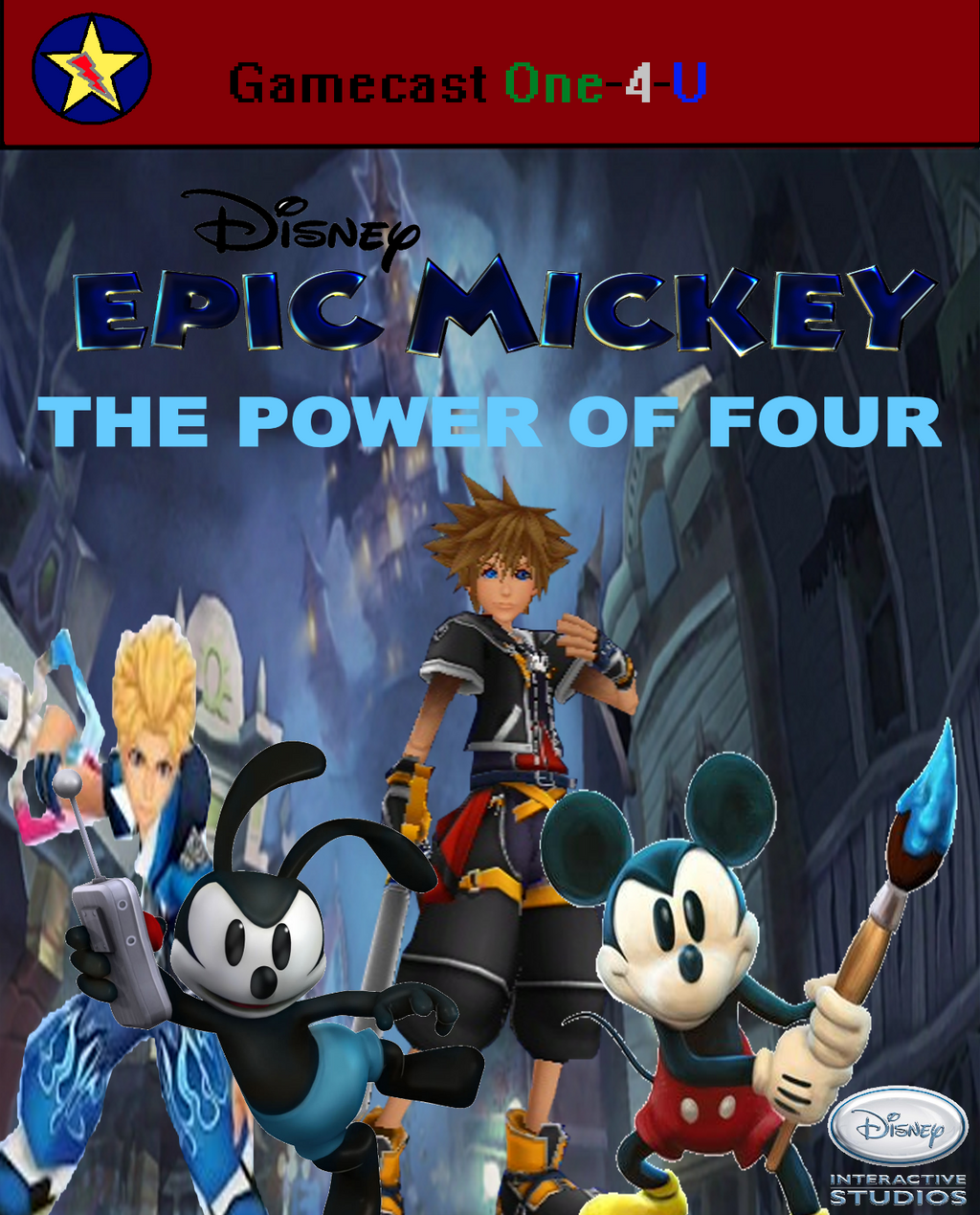 Epic Mickey- The Power Of Four By Jacobyel On DeviantArt
