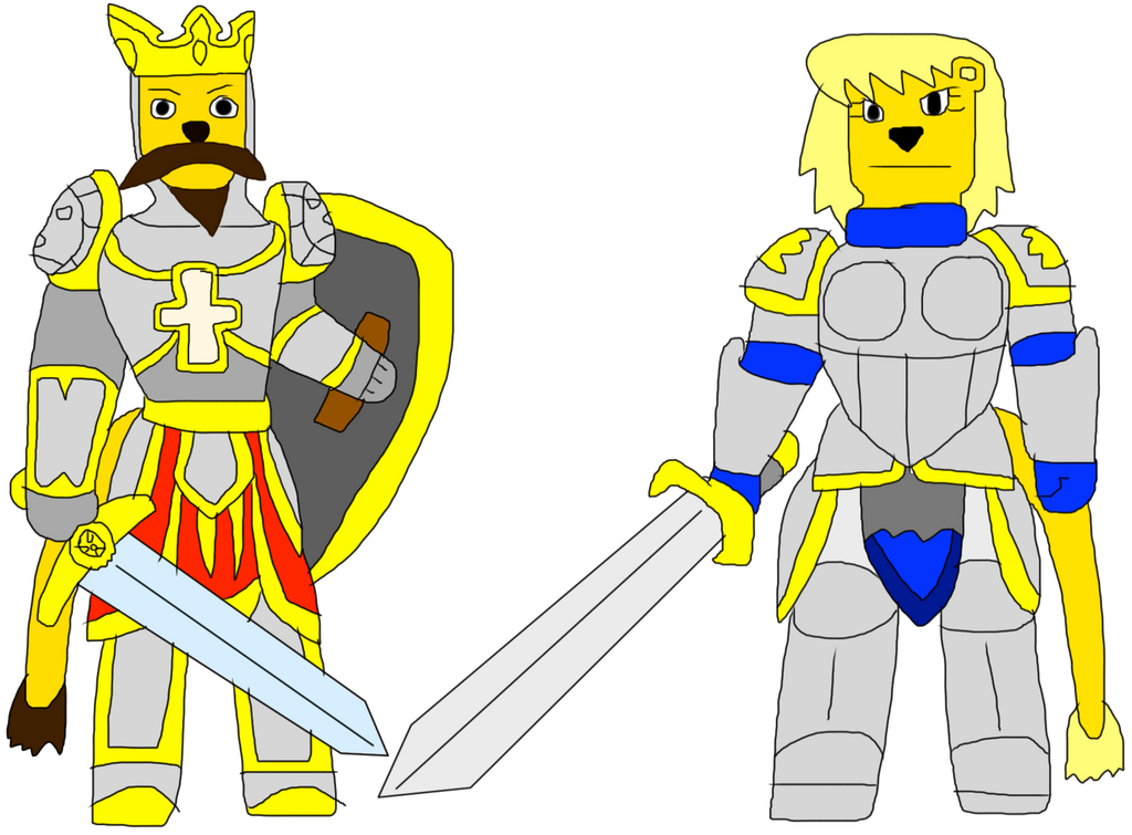 Aof: AOF King Richard Lionheart And Joan Of Arc By Jacobyel On