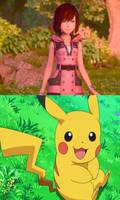 Pikachu Loves KH3 Kairi