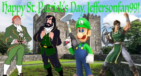 Happy St. Patrick's Day, Jeffersonfan99 by jacobyel