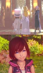 Mario and Peach's Wedding Makes Kairi Happy by jacobyel